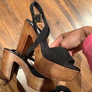 Steve Madden platform heel worn once